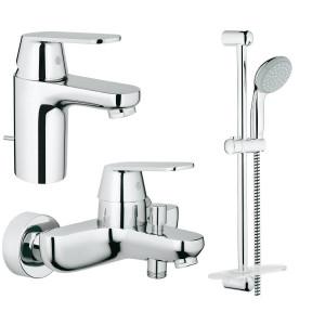 Набір змішувачів для ванни Grohe Eurosmart Cosmopolitan 126111S
