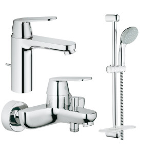 Набор смесителей для ванны Grohe Eurosmart Cosmopolitan 126112M