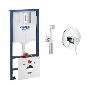 Комплект Grohe инсталляция Rapid SL 38772001+BauClassic 2904800S