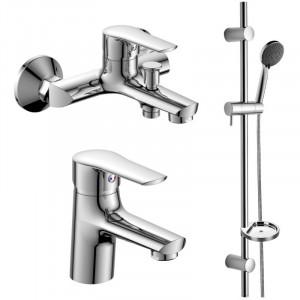 Набор смесителей для ванны и раковины Imprese KIT kit21081