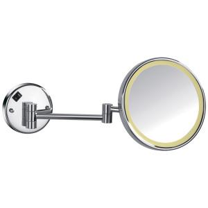 Зеркало косметическое Imprese 181322 с увеличением Х3 и подсветкой