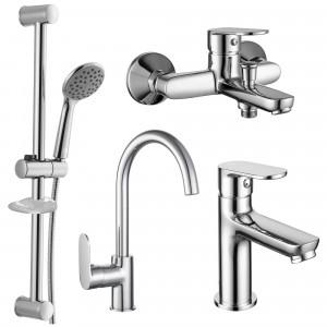 Набор смесителей для ванны 4 в 1 Imprese 51004055