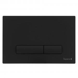 Клавіша змиву Imprese Black Soft Touch i9040ВOLIpure