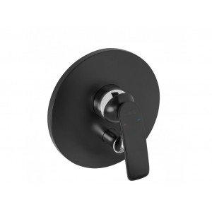 Встраиваемый смеситель для ванны и душа Kludi Balance Black Matte 526508775