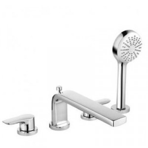Двухвентильный смеситель для ванны Kludi TERCIO 384230575