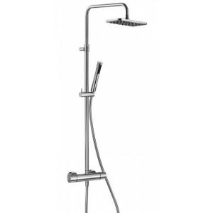 Душевая система с термостатом Kludi A-QA Dual Shower System 490950500