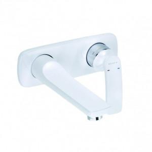 Смеситель для раковины белый Kludi Balance 522469175