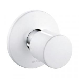 Вентиль белый встраиваемый Kludi Balance 528159175