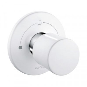 Вентиль белый для скрытого монтажа Kludi 528469175