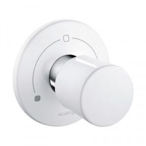 Вентиль белый для скрытого монтажа Kludi 528479175