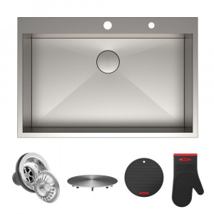 Кухонная мойка Kraus KP1TS33S-2
