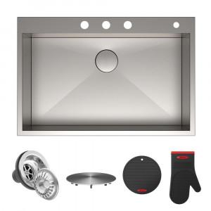 Кухонная мойка Kraus KP1TS33S-4