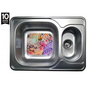 Кухонная стальная мойка Galati Fifika Satin 4013