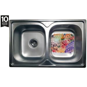 Кухонная стальная мойка Galati Fifika Textura 4016