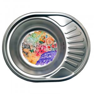 Кухонная стальная мойка Galati Taleyta Textura 2232