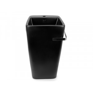 Умывальник напольный Newarc Aqua 40 см черный матовый 9412B-M