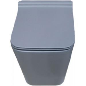 Унитаз подвесной Newarc Aqua серый матовый 9423GR-M