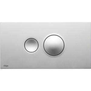 Кнопка смыва Visign for Style 10, матовый хром 596347