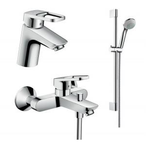 Набор смесителей в ванную Hansgrohe LOGIS LOOP 1042017