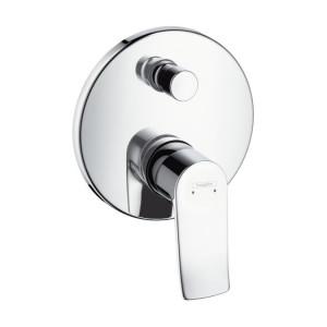 Смеситель для ванны Hansgrohe METRIS 31487000