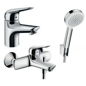 Набор смесителей для ванны 3 в 1 Hansgrohe NOVUS 710242663