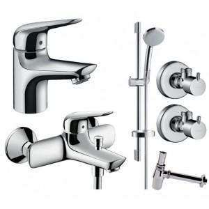 Набор для ванны 5 в 1 Hansgrohe NOVUS 710242775