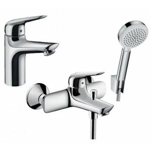 Набор смесителей для ванны 3 в 1 Hansgrohe NOVUS 710342663