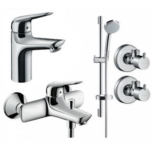 Набор смесителей для ванны 4 в 1 Hansgrohe 710342774