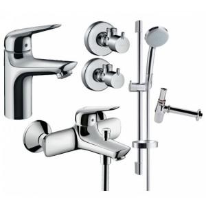 Набор для ванны 5 в 1 Hansgrohe NOVUS 710342775