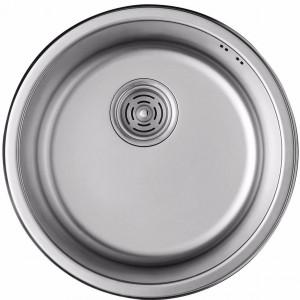 Кухонная мойка из нержавеющей стали ULA HB 7102 ZS POLISH