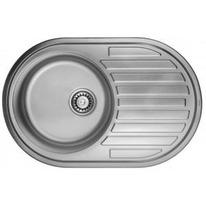 Кухонная мойка из нержавеющей стали ULA HB 7108 ZS POLISH