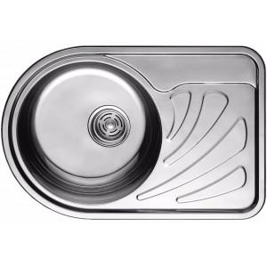 Кухонная мойка из нержавеющей стали ULA HB 7111 ZS POLISH L
