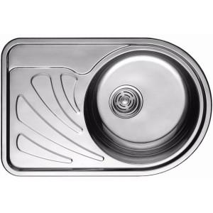 Кухонная мойка из нержавеющей стали ULA HB 7111 ZS POLISH R