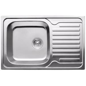 Кухонная мойка из нержавеющей стали ULA HB 7203 ZS POLISH