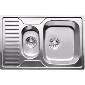 Кухонная мойка из нержавеющей стали ULA HB 7301 ZS POLISH