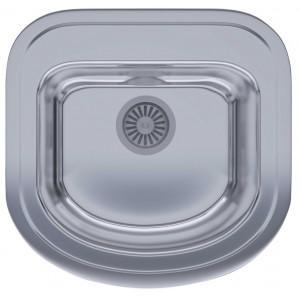 Кухонная мойка из нержавеющей стали ULA HB 7701 ZS POLISH