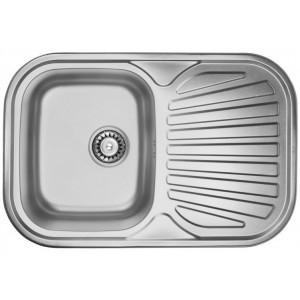 Кухонная мойка из нержавеющей стали ULA HB 7707 ZS POLISH