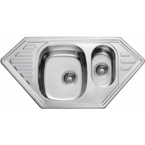 Кухонная мойка из нержавеющей стали ULA HB 7802 ZS DECOR