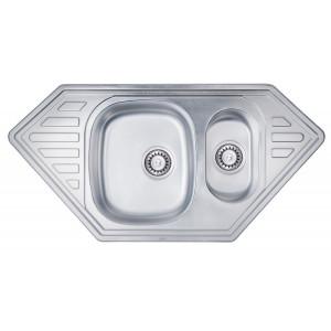 Кухонная мойка из нержавеющей стали ULA HB 7802 ZS SATIN