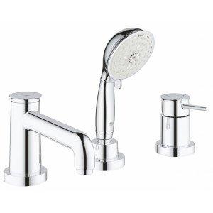 Смеситель для ванны Grohe BauClassic на 3 отверстия 2511800A