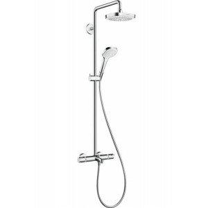 Душевая система Hansgrohe Croma Select E 180 2jet Showerpipe 27352400