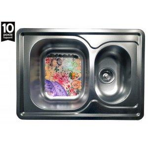 Кухонная стальная мойка Galati Fifika Textura 4017